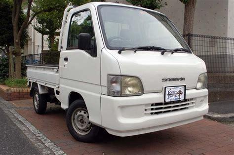 subaru sambar 2002 subaru sambar 4wd mini truck right drive