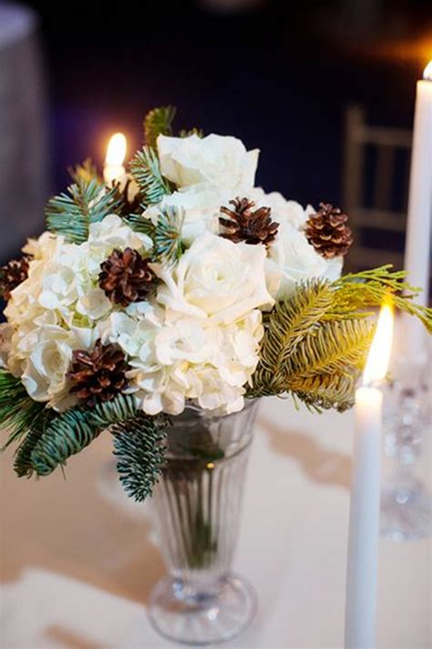 simple winter wedding ideas top 20 winter wedding ideas with pines
