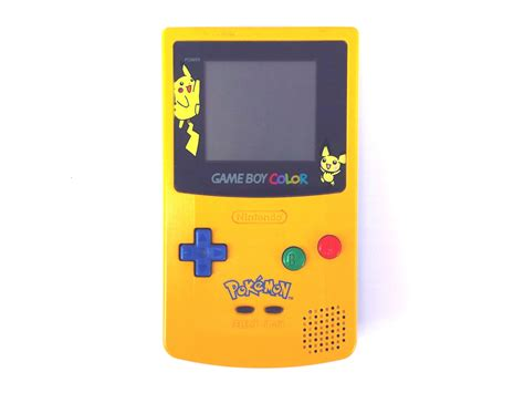 Nintendo Game Boy Color Pokemon Free Stock Photo Public