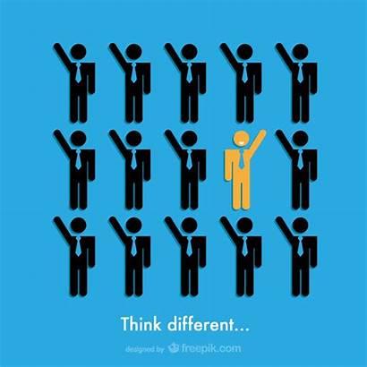 Different Think Diferente Piensa Unique Icon Freepik
