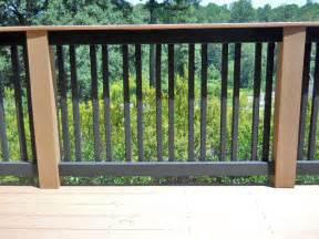 Deck Railing Design Plans
