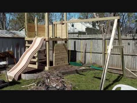 building  kids  home  play structure youtube