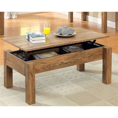 Includes structured coffee table in rich oak color features asymmetrical storage with unique compartments comes ready for assembly right out of box; 99 Inspirational solid Wood Coffee Table with Lift top 2017 | Coffee table, Solid wood coffee ...
