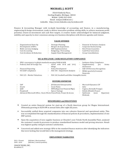 mergers and acquisitions resume resume ideas