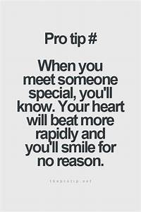 Just Meeting Someone Special Quotes. QuotesGram
