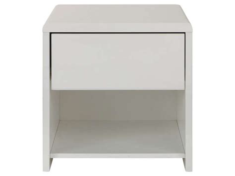 chevet 1 tiroir easy 2 coloris blanc vente de chevet adulte conforama