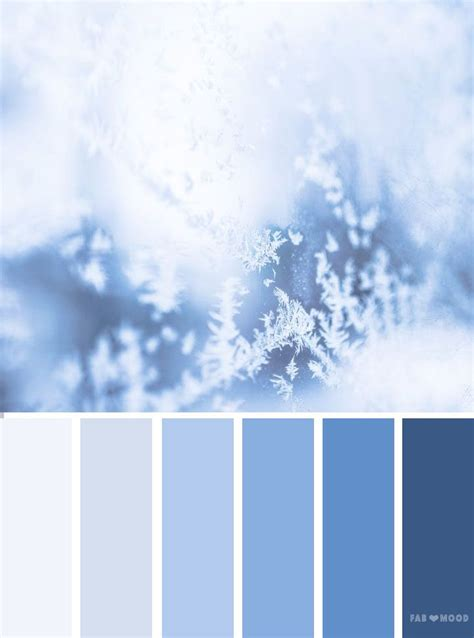 ice blue color palette colors 15 blue color schemes