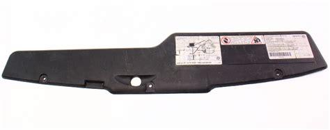 radiator engine bay cover tool tray   vw jetta golf gti mk hm