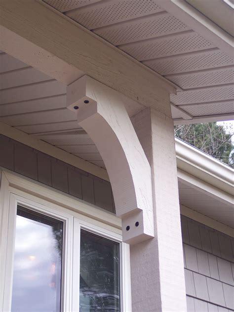 Porch Post Corbels by Exterior Sawn Bracket Corbels Brackets