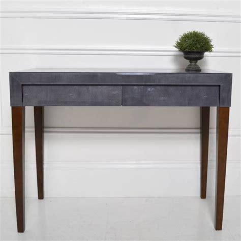 bureau avec retour pas cher petit meuble déco la console galuchat en grey meuble et