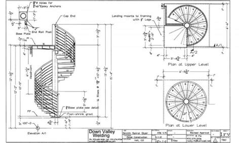 20 photos and inspiration spiral stair plans building