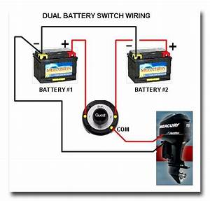 Boat Wiring Diagram Dual Batteries : dual battery selector switch boat wiring easy to ~ A.2002-acura-tl-radio.info Haus und Dekorationen