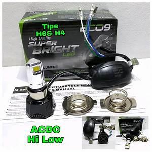 Jual Lampu Depan Motor Led 3 Sisi Eco9 Luminos Di Lapak