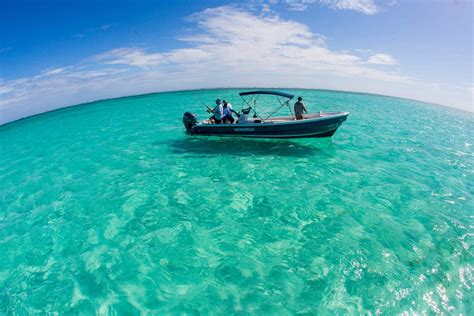 Pelican Boats Belize by Fishing Adventure Pelican Reef Villas Belize Resort