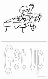 Routine Daily Coloring Worksheets Worksheet Flashcards Esl Printable Sketch Printables Template Screen Islcollective sketch template