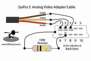 Diy Gopro3 Video Out Cable  U2013 Rcexplorer