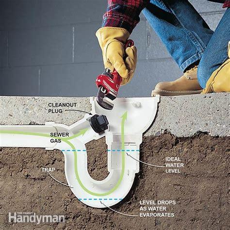 eliminate basement odor  sewer smells