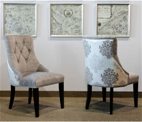 selecting dining chair for glam dining room
