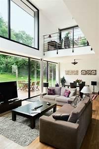 Une Maison Moderne Qui Invite Le Jardin L39intrieur