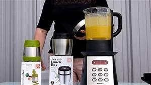 Blender Chauffant Recette : recette faire une soupe avec le blender chauffant youtube ~ Louise-bijoux.com Idées de Décoration