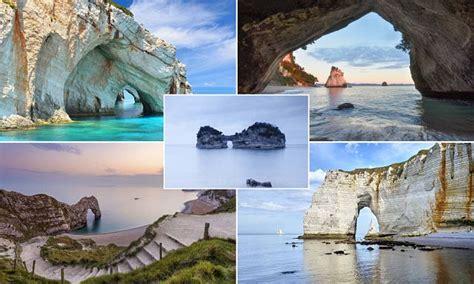 sea arches  visit    late