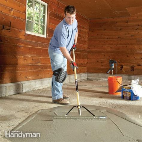 garage floor repair garage floor resurfacing fix a pitted garage floor the