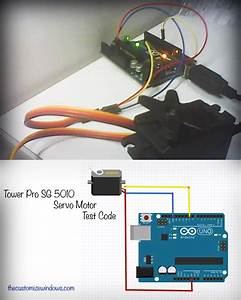 Tower Pro Sg 5010 Servo Motor