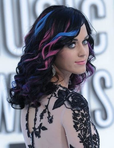 Katy Perry Hair Clip In Hair Extensions Halloween Hair