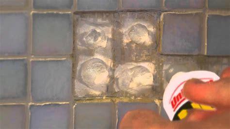 repairing bathroom tiles how to easily fix mosaic tiles in the bathroom 14175