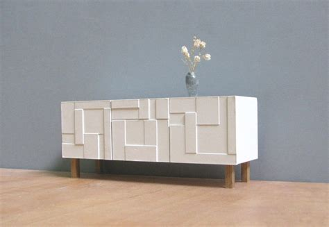 modern credenza ikea white sideboard credenza 1 18 1 12 scale collectible