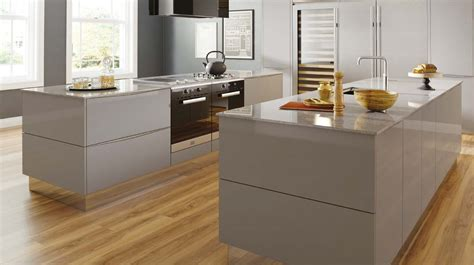light grey gloss kitchen mattonella gloss grey our kitchens sheraton kitchens 6991