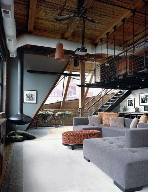 chambre style loft industriel salon style loft industriel