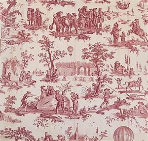Toile De Jouy : la toile de jouy un fabuleux r pertoire de motifs l 39 exemple du ballon de gonesse ~ Teatrodelosmanantiales.com Idées de Décoration
