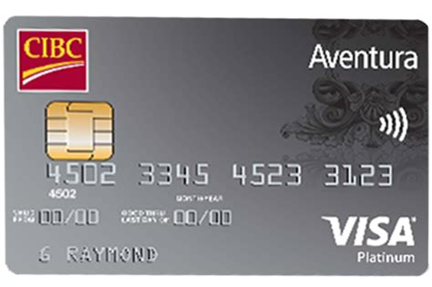 Check spelling or type a new query. CIBC Offering 5,000 Bonus Points, $0 Annual Fee with Their CIBC Aventura® Visa* Credit Card - W7 ...