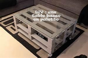 Table En Palette : diy une table basse en palette mini bonheur ~ Melissatoandfro.com Idées de Décoration