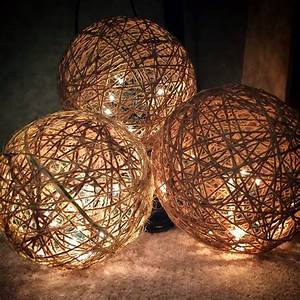 How To Make Your Own Dj Lights Twine Spheres Diy Classy Christmas Twine Crafts