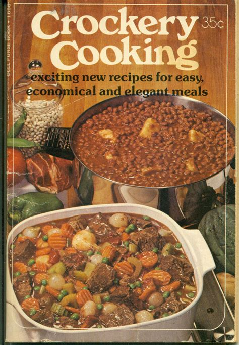 new and exciting dinner recipes crockery cooking exciting new recipes for easy economical and elegant meals dell purse book