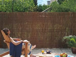 Brise Vue Sur Pied : brise vue sur muret cache terrasse pas cher with brise ~ Premium-room.com Idées de Décoration