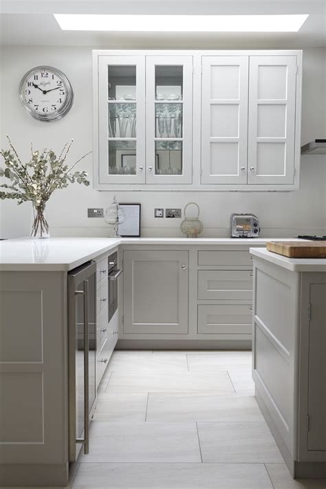 farrow and grey kitchen cabinets farrow pavilion grey shaker style kitchen and 9872