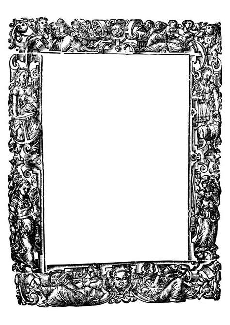 Kleurplaat Randen by Kleurplaat Kader Middeleeuwen Afb 27415 Images