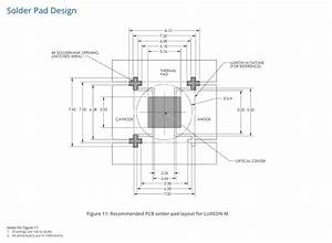 pcb what is a quotsolder mask openingquot in a footprint With datasheet what is quotinput hysteresisquot electrical engineering stack