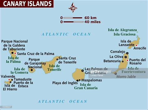 map  canary islands stock illustration getty images