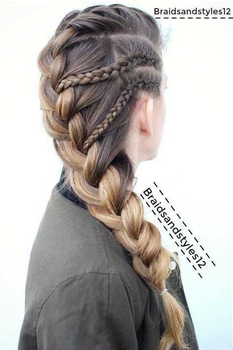 french braid braided hairstyle  braidsandstyles