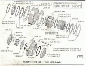 Warn M3b Lock O Matic Hubs