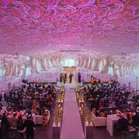 projection mapping   wedding martha