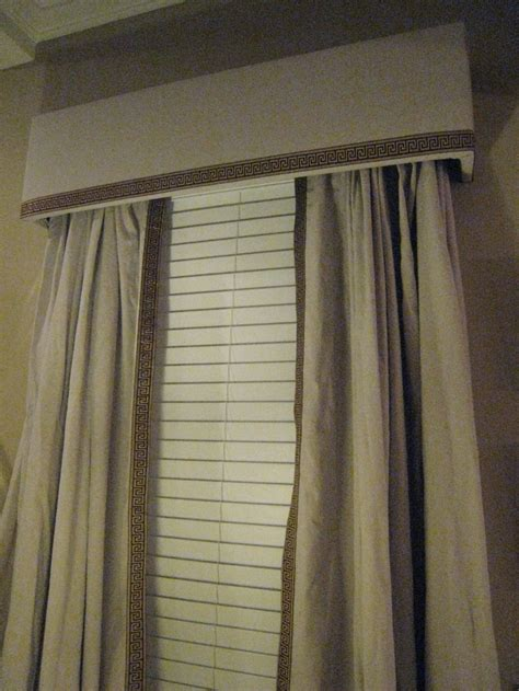 key trim curtains and cornices i made them myself