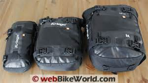 kriega us20 non saddlebag luggage options anybody tried kriega or