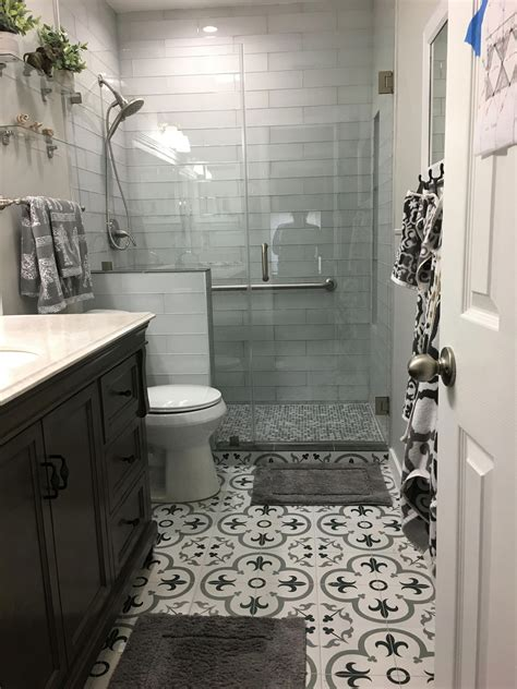Bathroom Remodel Ideas Tile by Bath Remodel Tiles Floor Decor Floor Florentina Grey