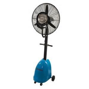 industrial misting pedestal fan ventilation