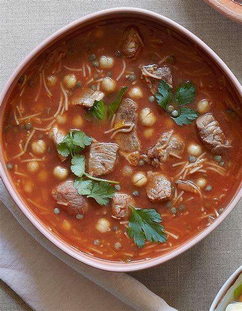 fr3 fr recettes de cuisine soupe harira pour 4 personnes recettes à table